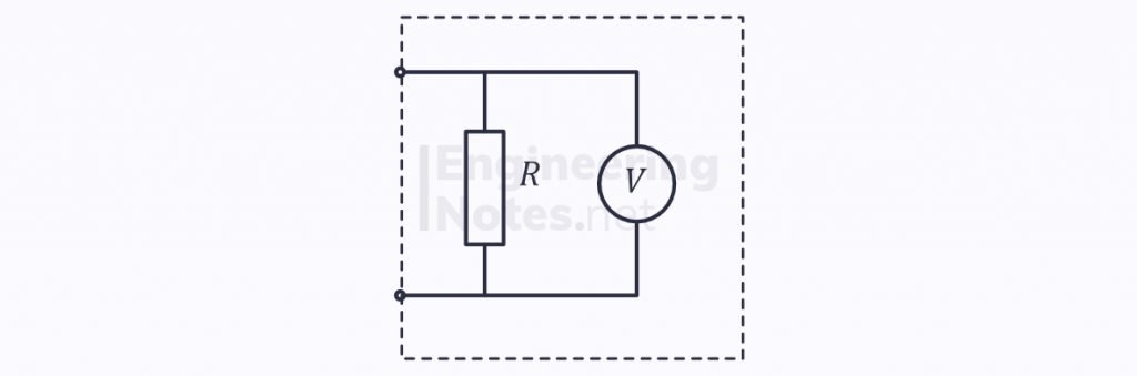 electricity & electrical circuits, voltmeter, non-ideal voltmeter