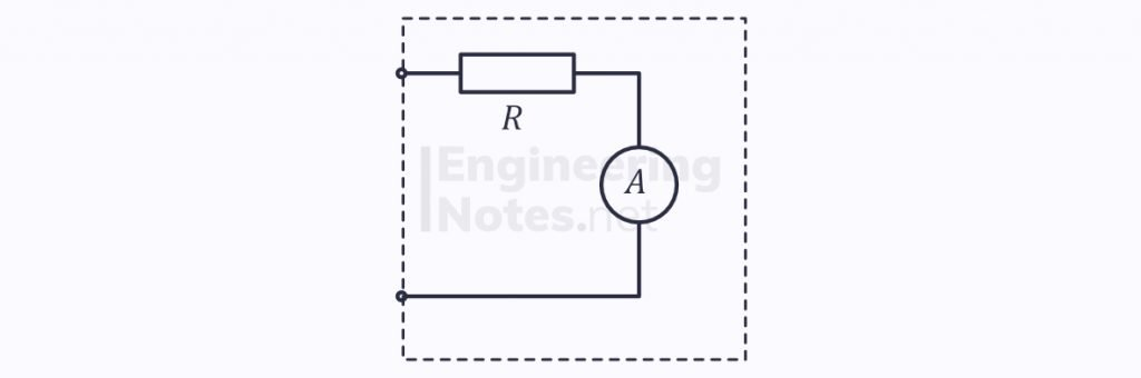 electricity & electrical circuits, ammeter, non-ideal ammeter