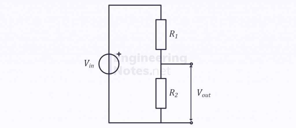 electricity & electrical circuits, potential divider, potential divider diagram, potential divider equation, potentiometer