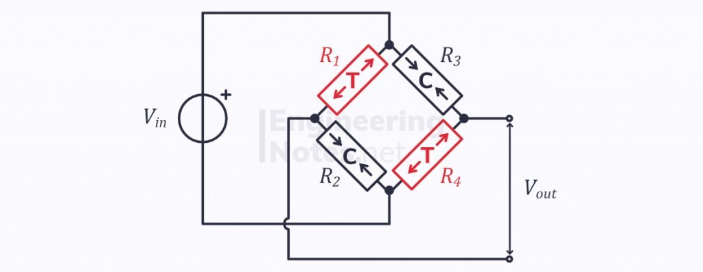 load cell schematic, load cell circuit diagram